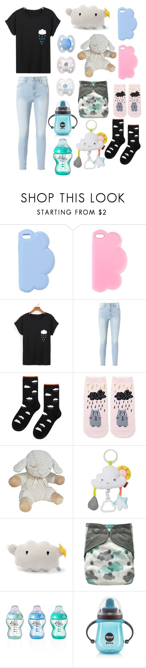 """Clouds (age regression, cglre)"" by transboyfanboy ❤ liked on Polyvore featuring STELLA McCARTNEY, Frame, Hansel from Basel, Forever 21, Cloud B, John Lewis and Joovy"