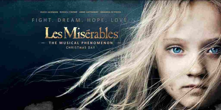 Script for Les Miserables (2012)