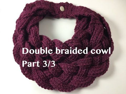 How to make the Double Braided Cowl, how to make the bands for the braid, where to find the pattern and more information please check out my facebook page Op...