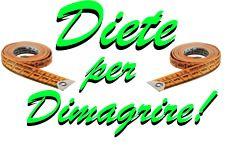 ... diete veloci ed efficaci, siccome mantenendo questo ritmo