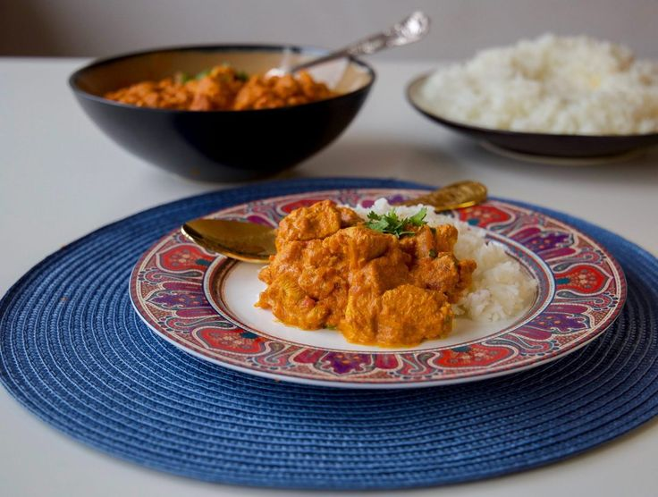 Tikka masala med kyckling eller oumph - ZEINAS KITCHEN