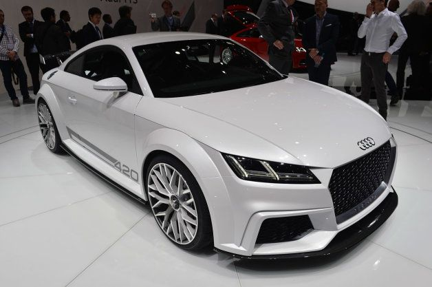 Audi TT Quattro Sport Concept takes the 420 references to the extreme