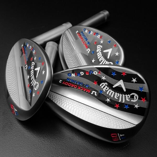 """Insert drool here,"" said Chad Coleman of Callaway Golf about these drool-inducing Mack Daddy 2 wedges."