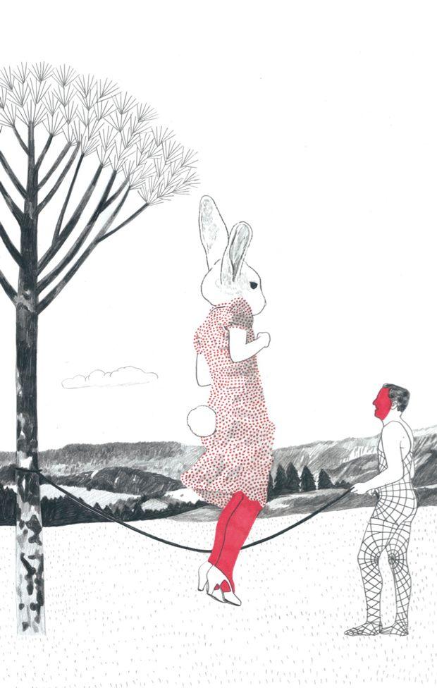 Caza de Conejos. Ilustraciones originales de Sonia Pulido en La Fiambrera