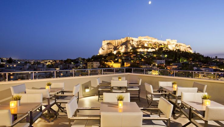 THEA TERRACE BAR - Central Athens Hotel Πλάκα