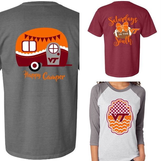New Virginia Tech Hokies Shirts