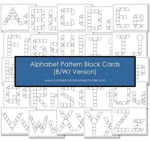 attrimaths alphabet, fichier à télécharger.