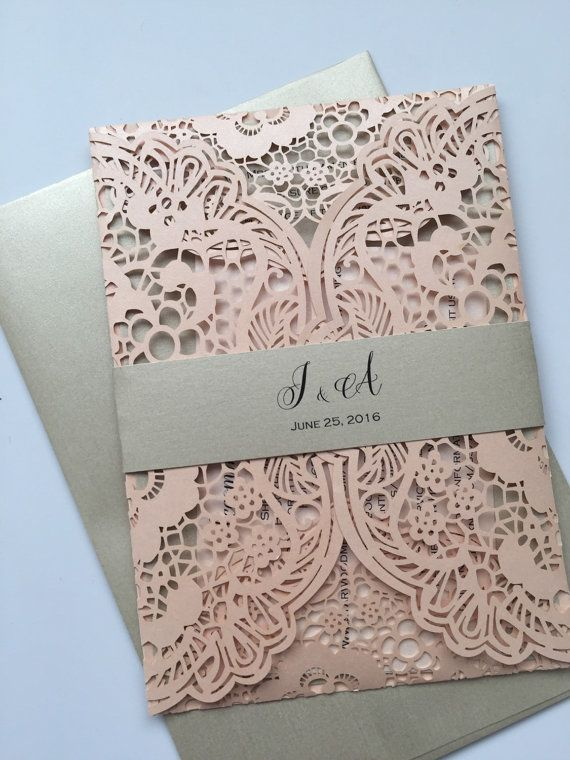 If you love LACE and LUXURIOUS invitations as much as we do, our boutique is just for you! At Lavender Paperie, we strive to offer the most absolute gorgeous, vintage inspired LACE wedding invitations around. We take much pride in the fact that we are the ORIGINAL lace wedding invitation boutique on Etsy since 2010! Below are short and sweet details about our listing. Please let us know if you have any questions. We look forward to the possibility of working with you!  ♥ IMPORTANT LISTING…