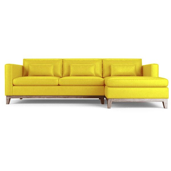Best 25 yellow leather sofas ideas on pinterest sofa for Yellow leather sofa bed