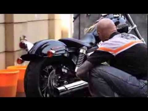 AMPS.co.nz - Harley-Davidson Surface Care Pt 1 of 6 - Washing and Drying - YouTube