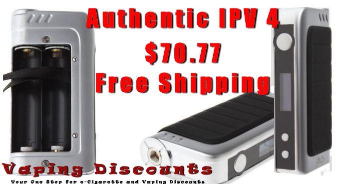 Pioneer4You IPV 4 Authentic 100 watt vape mod