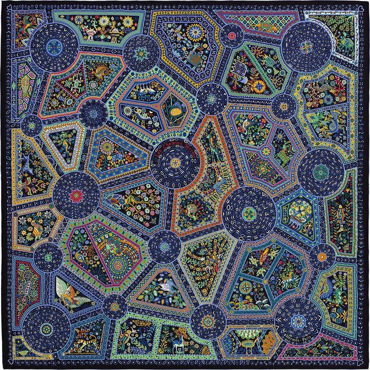 140 x 140 cm scarf Hermès | Chemins Secrets