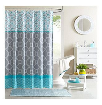 Product: Intelligent Design Clara Shower Curtain