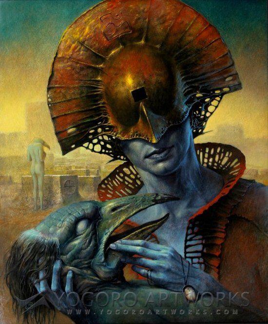 As sombrias e surreais pinturas pós-apocalípticas com toques de terror e ficção de Dariusz Zawadzki