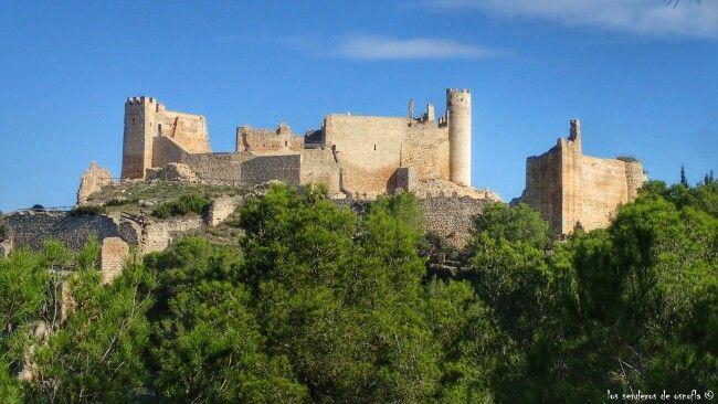 Castell de Xivert en la Serra d' Irta, Alcalá de Xivert, Castellón.