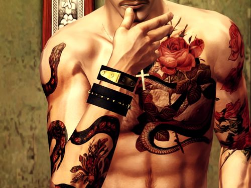 This is a tutorial for anyone who wants to add tattoos directly to a skintone rather than using the in-game tattoo system or accessory tattoos. Tattoos added directly to the skintone have the...