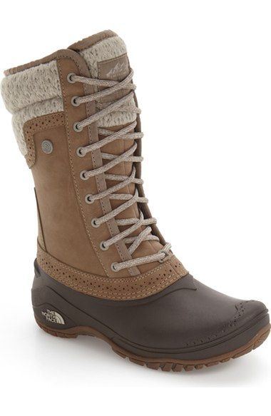 The North Face 'Shellista' Waterproof Insulated Snow Boot (Women) available at #Nordstrom