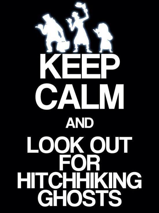 Look out for the Hitchhiking ghosts!