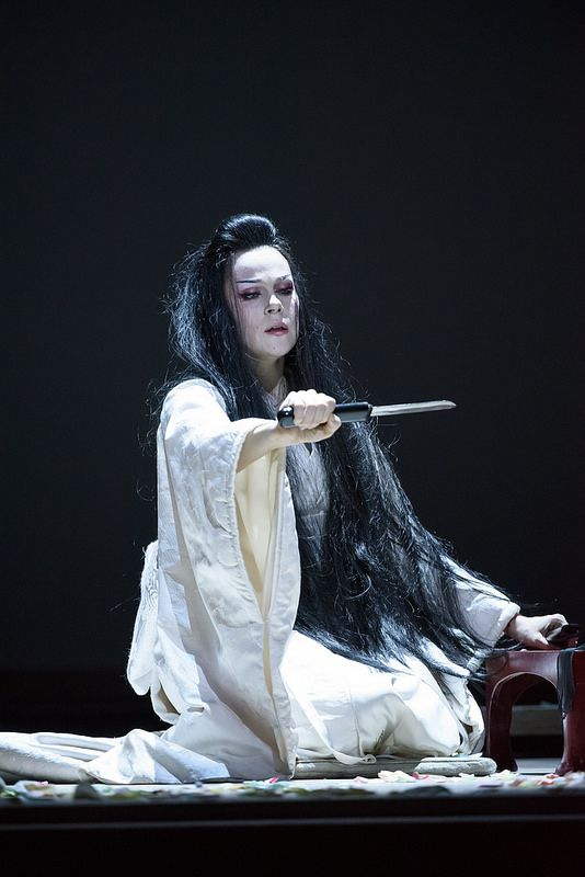 Kristine Opolais as Cio-Cio-San in Madama Butterfly © ROH 2015. Photo by Bill Cooper | by Royal Opera House Covent Garden