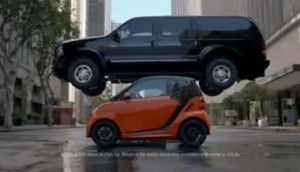 New TV Ads Should Raise Awareness For Smart Cars | This new smart car campaign is brilliant, and the script is fantastic. I always see those cars as square coffins, but this ad addressed my objections. I would consider a smart car now.