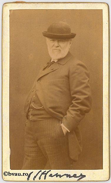 """I.I. Henney, Paris, 1898. Imagine din colecțiile Bibliotecii """"V.A. Urechia"""" Galați."""