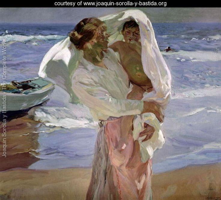 Just Out of the Sea, 1915 - Joaquin Sorolla y Bastida