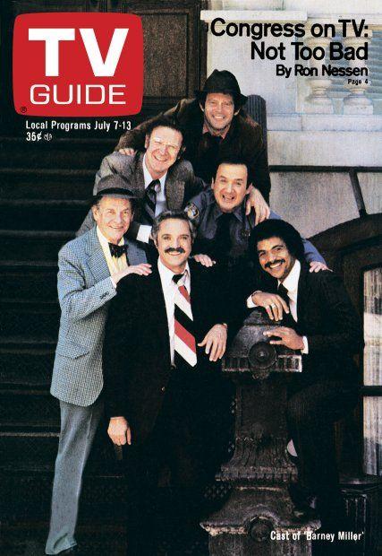 TV Guide July 7, 1979 - Max Gail, Steve Landesberg, Ron Carey, James Gregory, Hal Linden, Ron Glass of Barney Miller