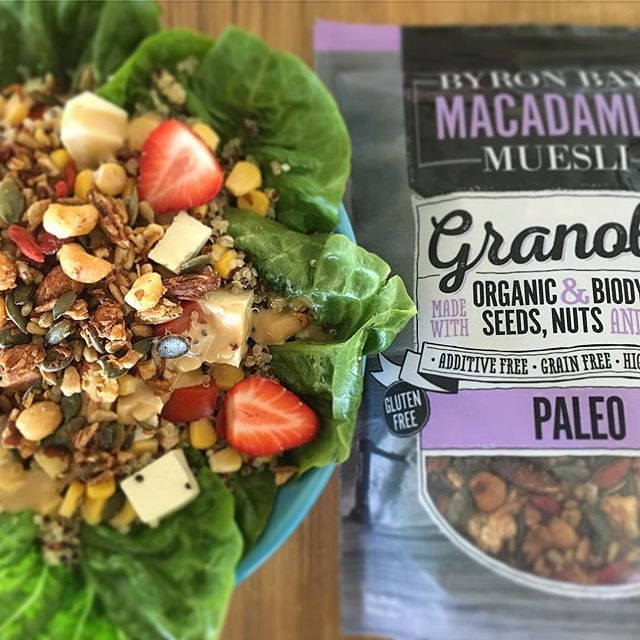 Paleo Lunch Inspiration by @byronbaymuesli #paleo #byronbay #health