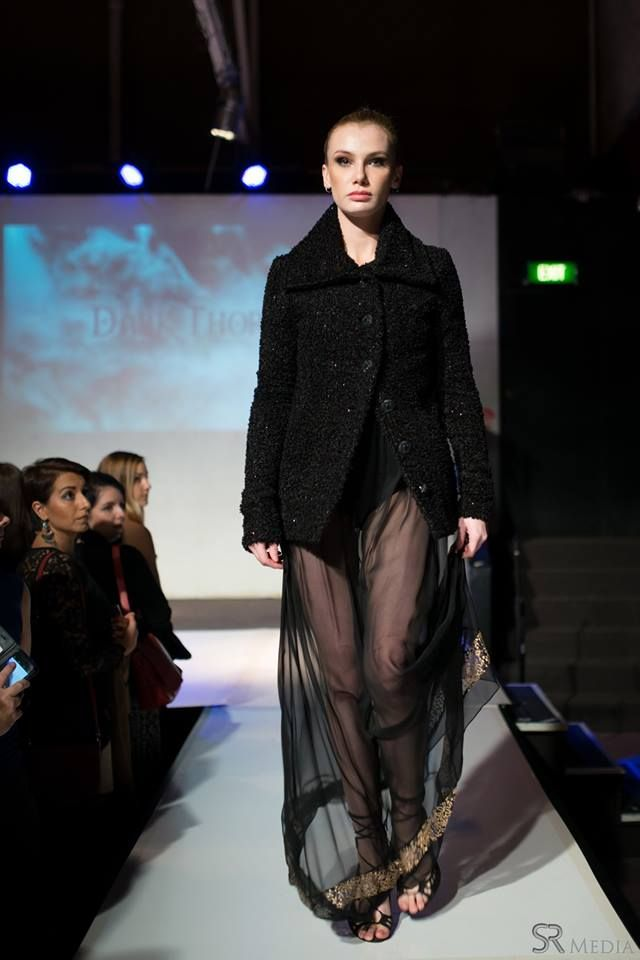 Raw Adelaide Signature 1.04.2016  Vanessa on the runway in the Florence bodysuit, Chastity accessory skirt and the Nora coat  Photography: SR Media Hair: Caitlan Prater Makeup: Tiarna Lehmann  FLORENCE: http://www.darkthornclothing.com/collections/rebirth/products/florence-bodysuit CHASTITY: http://www.darkthornclothing.com/collections/rebirth/products/chastity NORA: http://www.darkthornclothing.com/collections/rebirth/products/nora-coat-limited