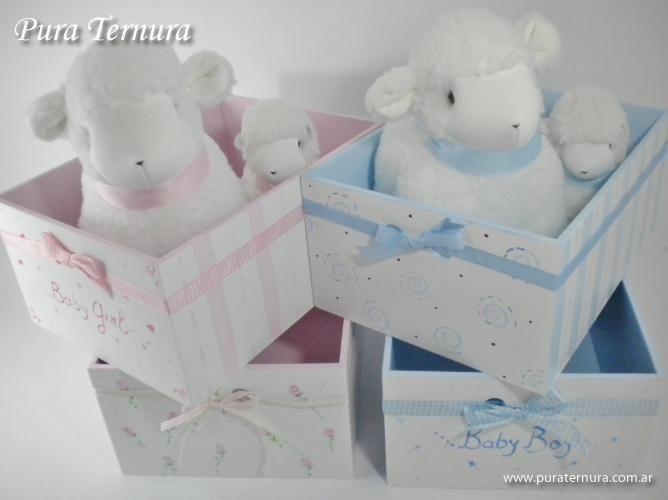 Im genes de cajas con decoupage para bebes pesquisa do - Cajas decoradas para bebes ...
