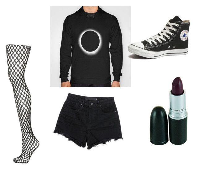 """""""meeting Dan and Phil"""" by kena-the-emo on Polyvore featuring T By Alexander Wang, Topshop and Converse"""