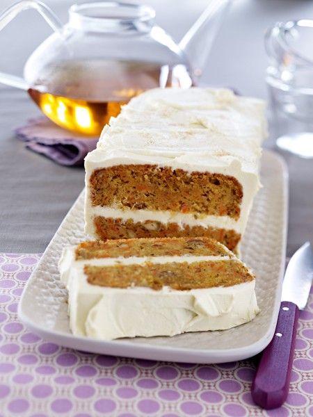 Carrot Cake: Das saftige Original Rezept