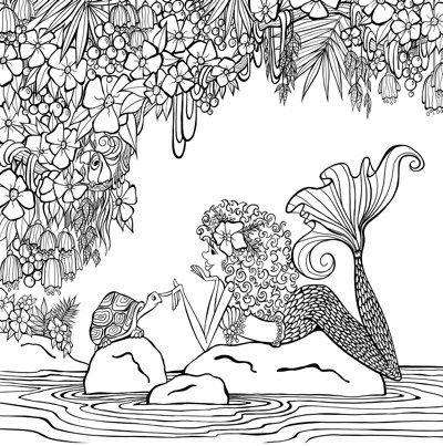 3494 best adult coloring pages images on Pinterest Coloring books - best of under the sea coral coloring pages