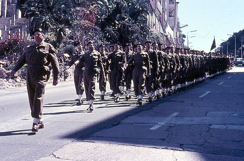 Prince Alfred's Guard regiment, South Africa 1969 #0590