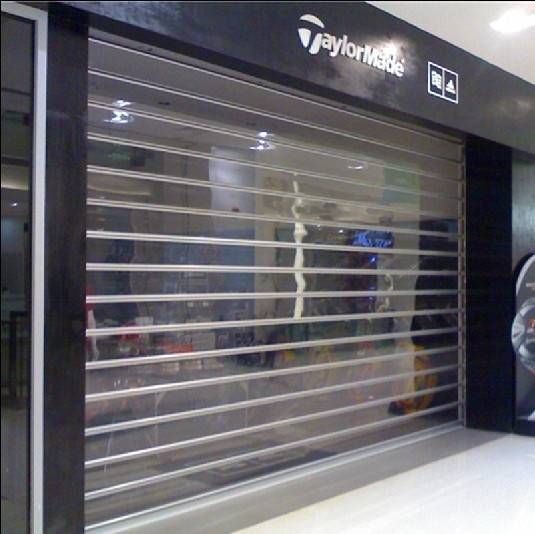 sell transparent roller shutter door