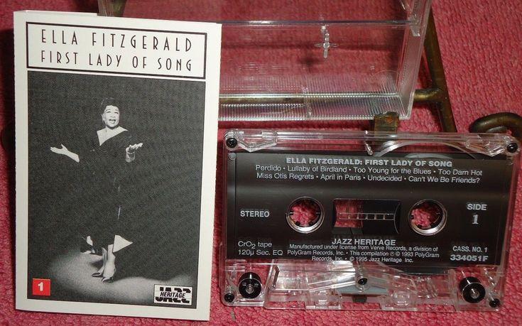 Ella Fitzgerald - First Lady Of Soul - Jazz Heritage - 1995 - Audio Cassette
