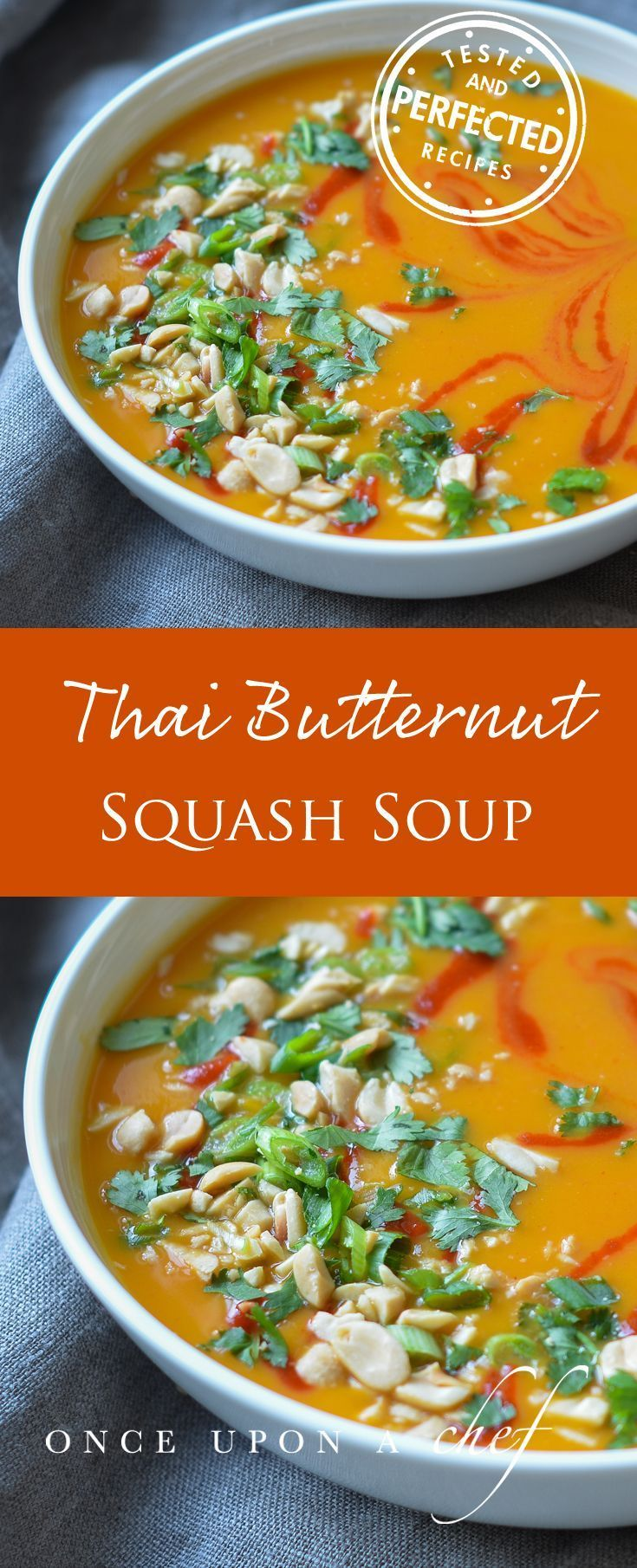 Thai Style Butternut Squash Soup With Coconut Milk Thaifoodrecipes Healthy Soup Recipes Butternut Squash Soup Healthy Recipes