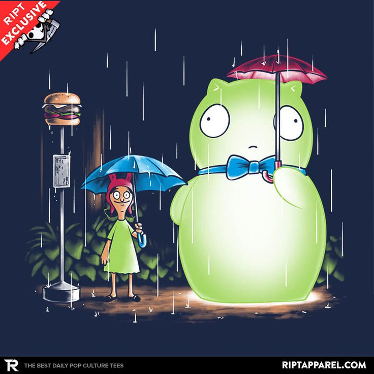 My Neighbor Kuchi Kopi T-Shirt - Bob's Burgers T-Shirt is $11 today at Ript!