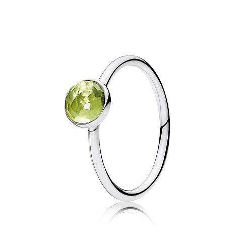 b34ff7e62 Pandora 925 191012PE-52 August Birthstone Peridot ring sz 6 NWOT box # Pandora #shopping #shopnow #buyitnow #ebay #BirthdayDroplet #birthdayRing # birthstone ...