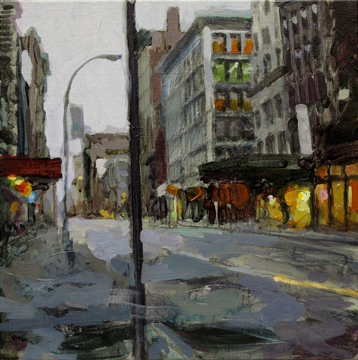 32 best Laurent Dauptain, mes peintures de paysages de New York ...