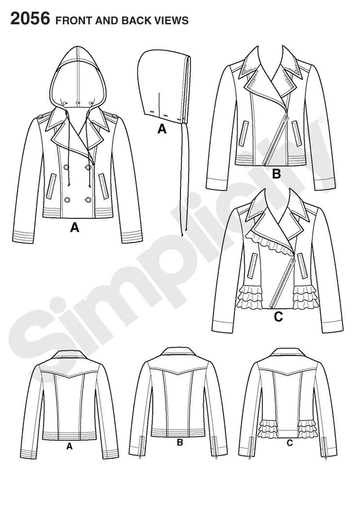 67 Best 1 Sew Jacket Images On Pinterest Sewing Patterns Sewing