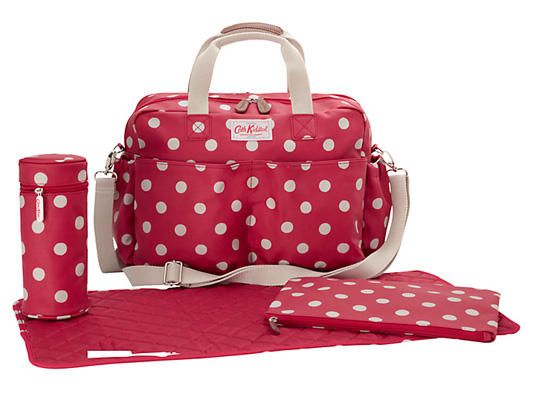4. Cath Kidston Spot Changing Bag & Accessories
