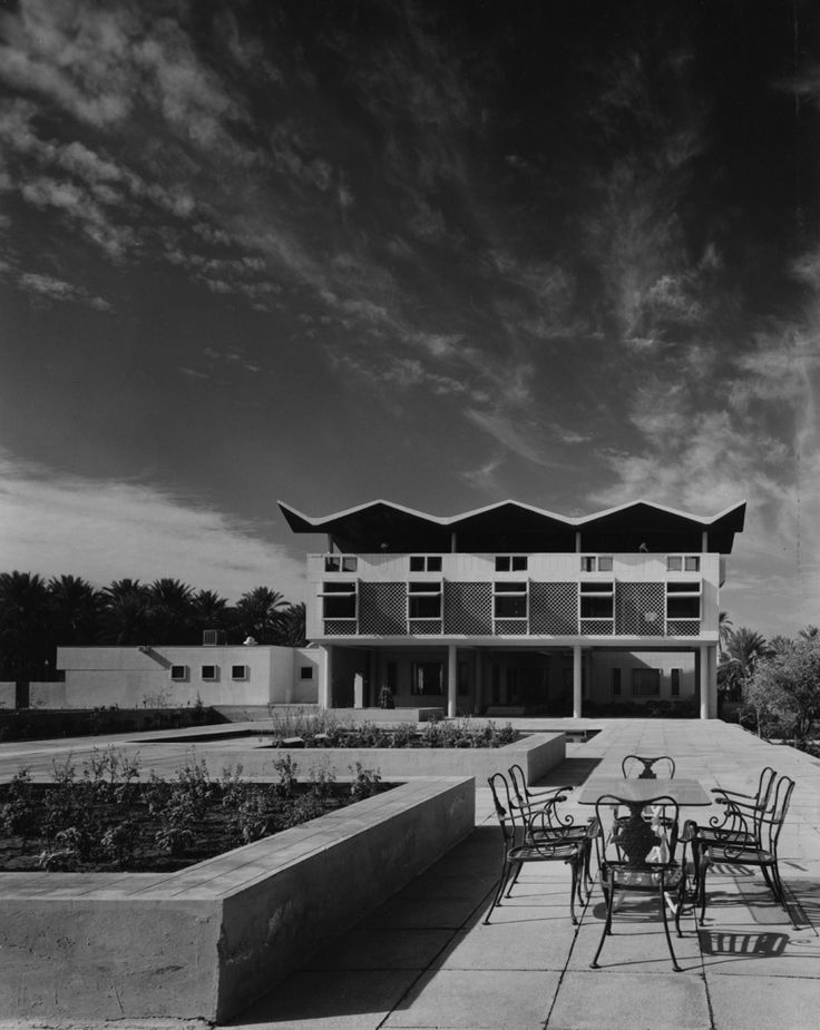 Embassy of the United States, Baghdad, Iraq, designed by Josep Lluís Sert 1961