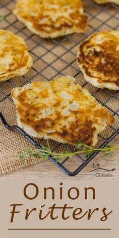 Onion Fritters - All Onion Fritters - All the taste of an onion...  Onion Fritters - All Onion Fritters - All the taste of an onion ring in a simple to make little fritter (pancake). These are great as a side dish or as a fancy appetizer! Recipe : http://ift.tt/1hGiZgA And @ItsNutella  http://ift.tt/2v8iUYW