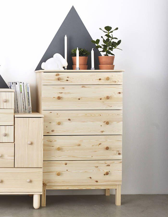 devenez une pro du rangement avec ces 10 commodes ikea meubles furnitures pinterest. Black Bedroom Furniture Sets. Home Design Ideas