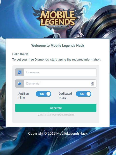 Mobile Legends Hack - Free Free Diamonds LIVE PROOF Mobile