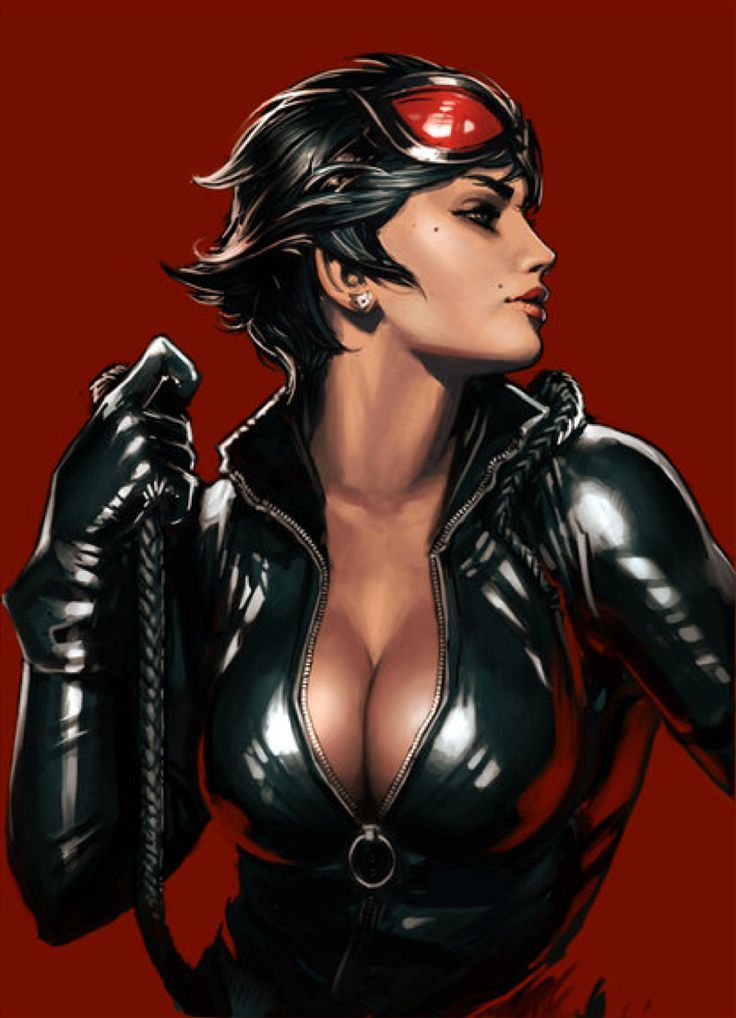 Gotham City Sirens - Catwoman by Yama Orce