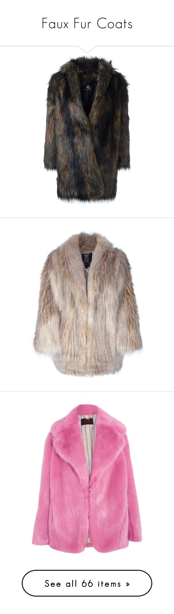 """Faux Fur Coats"" by robinnnnnnn ❤ liked on Polyvore featuring outerwear, coats, grey, gray faux fur coat, grey coat, paul smith coat, paul smith, faux fur coat, jackets and fur"