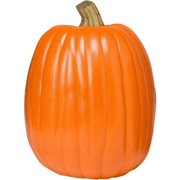 "Jack The Pumpkin King 13""Orange Fall Harvest Halloween Decoration Goblins Candy…"