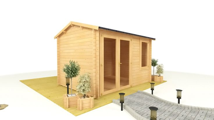 Give a different look to your garden with trendy furniture and sheds from Garden Buildings Direct​.
